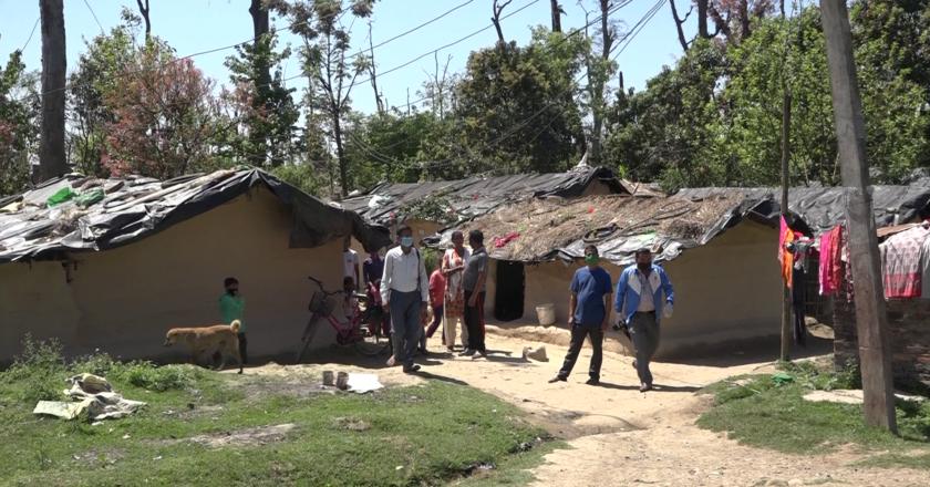 सुकुम्बासी र अव्यवस्थित बसोबास गर्नेको संख्या सवा ८ लाख बढी